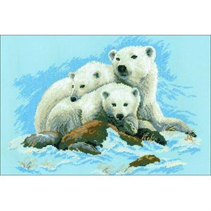 Cross Stitch Kit - Polar Bear