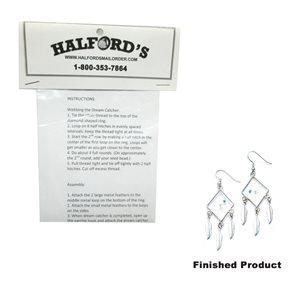 Diamond Dream Catcher Earring Kit