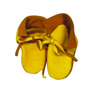 Infant Moccasin Kits w/Deer Leather - Tan