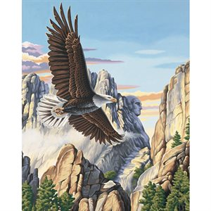Paint By Numbers - Soaring Eagle