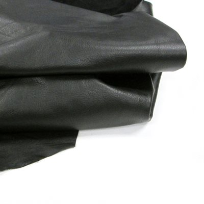 Garment Cowhide #1 - Black (1.5 - 2 oz.)