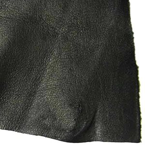 Garment Cowhide #2 - Black (2 - 2.5  oz.)
