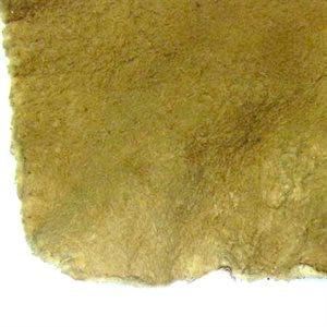 Traditional Native Smoke/Brain Tanned Hides - Deer