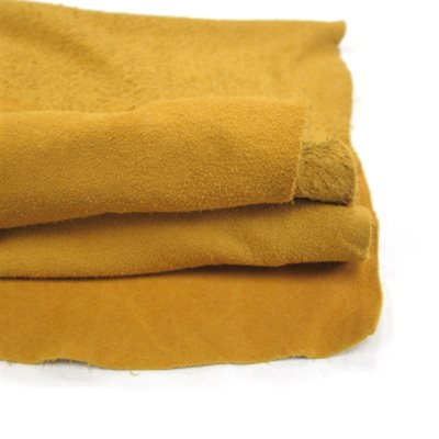 Deer Split Leather - Tan (Ungraded)