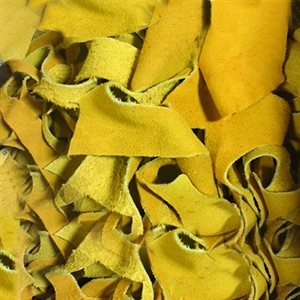 Deer Leather Scraps (1/2 lb. bag)