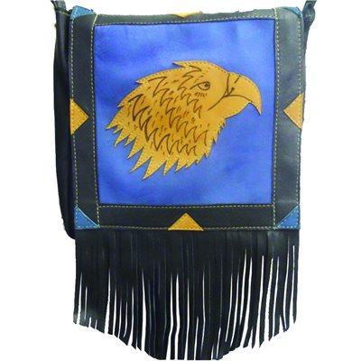 Large Bag - Black and Blue (Tan Eagle)