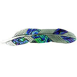 Feathers Barrette