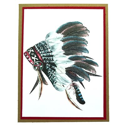 Handmade Card - Headdress