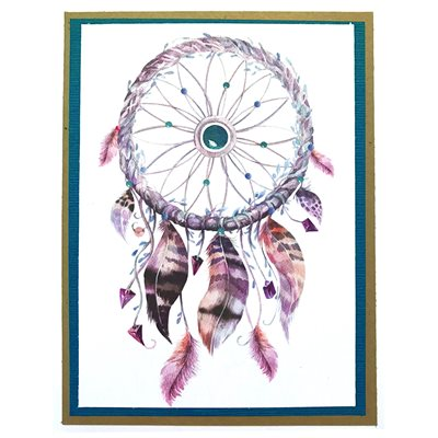 Handmade Card - Dream Catcher
