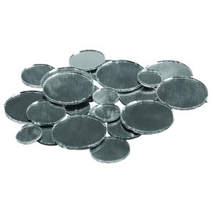 Mirrors - Circle - Assorted Sizes (25 Pieces)