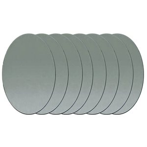 "Mirrors - Oval 1"" X 3/4"" (10 Pieces)"