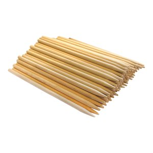 "Wood Skewers - Birch, 6"" x 7/32"" (100 Skewers)"