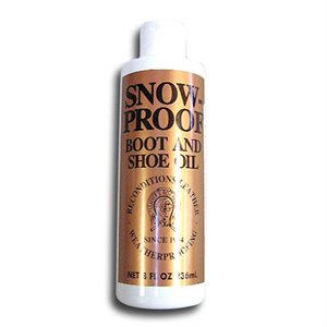 Snow Proof Boot and Shoe Oil (8 oz.)