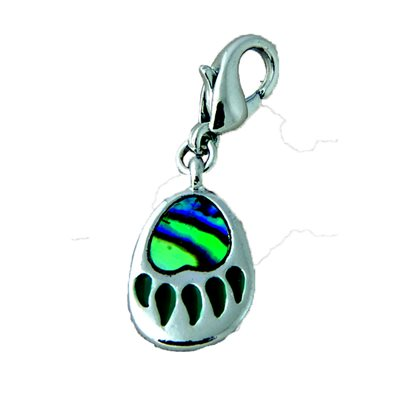 Bear Paw Zipper Pull