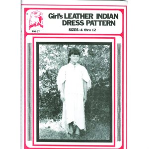 Pattern - Girl's Indian Leather Dress