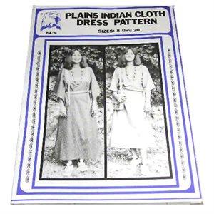 Plains Indian Cloth Dress Pattern