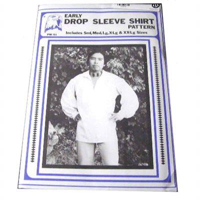 Early Drop Sleeve Shirt Pattern