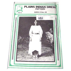 Plains Indian Dress Pattern