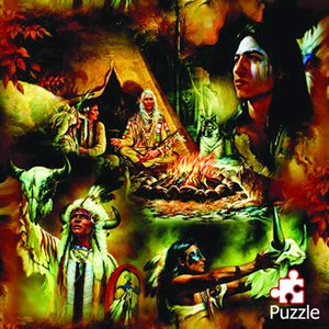 Native American Dreams Puzzle (1000 Piece)