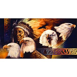 Lakota Twilight Puzzle (500 Pieces)