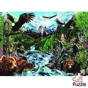 The River Of Life Puzzle (1,500 Piece)