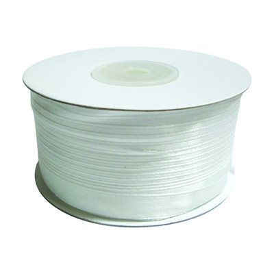 Satin Ribbon - White (100 m)