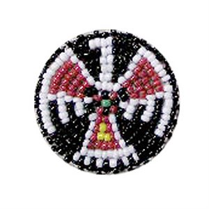 Beaded Rosettes - Black