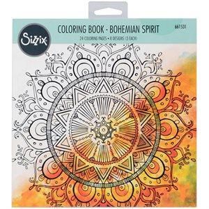Bohemian Spirit - Coloring Book