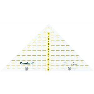 """Omnigrid - Right Triangle (1/4"""" - 12"""" Square)"""
