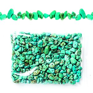 Semi Precious Chips - Chinese Syn Turquoise