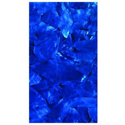 Shell Veneers - White Mop Cobalt Blue