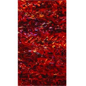 Shell Veneers - Paua Ruby Red