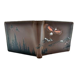Mens Wallet - Mountain Eagles