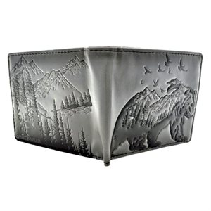 Mens Wallet - Mountain Bear